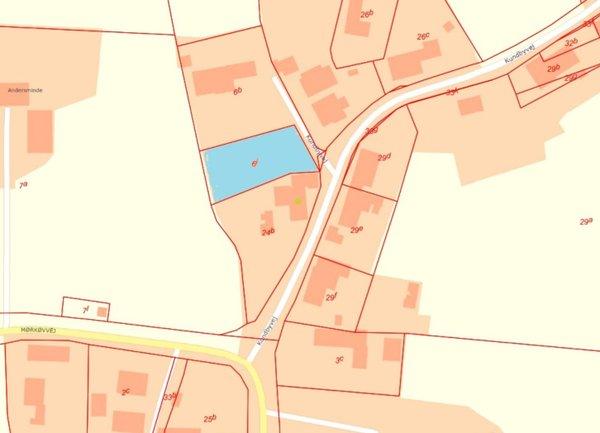 Kundbyvej 1A, Marke Grund